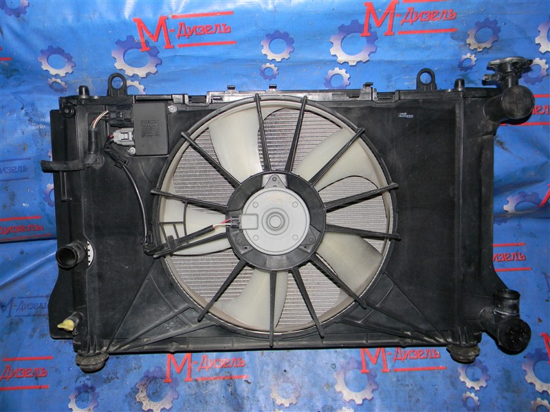 Радиатор двигателя Toyota Corolla Fielder NZE141 1NZ-FE 2006