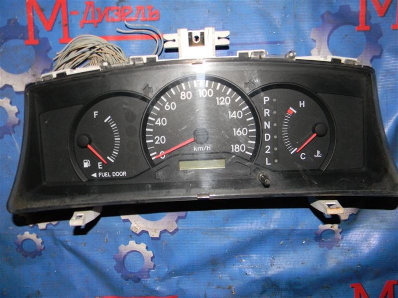 Панель приборов Toyota Corolla Fielder NZE121 1NZ-FE 2001