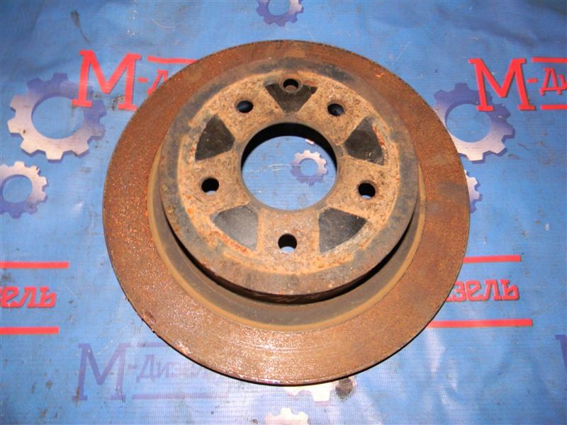 Диск тормозной Nissan X-Trail NT31 MR20DE 2007 задний левый