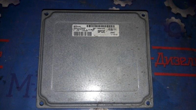 Блок управления двс Ford Focus CB4 1.6L DURATEC 16V PFI 2011