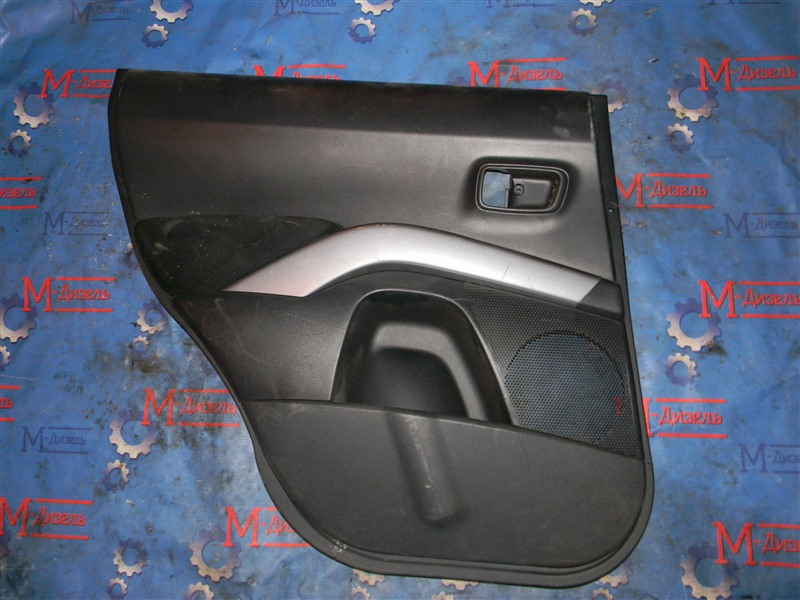 Обшивка двери Mitsubishi Outlander Xl CW6W 6B31 2007 задняя левая