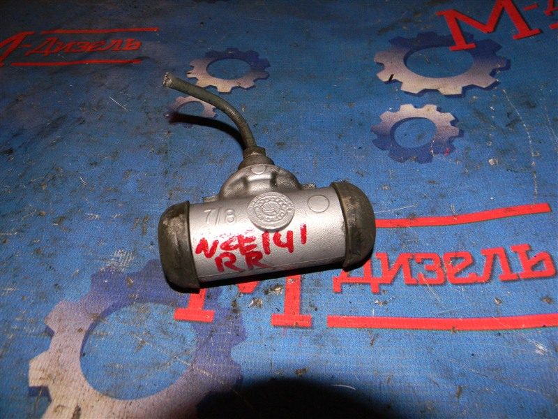 Тормозной цилиндр Toyota Corolla Fielder NZE141 1NZ-FE 2006 задний правый