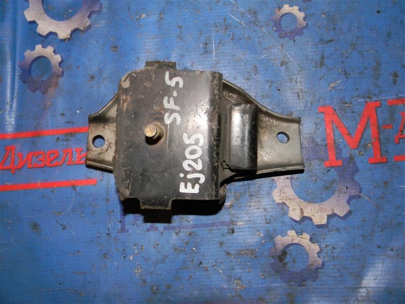 Подушка двигателя Subaru Forester SF5 EJ20-T 2001 левая