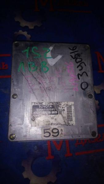 Блок управления двс Toyota Vitz SCP10 1SZ-FE 2003