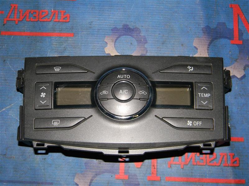 Блок управления климат-контролем Toyota Corolla Axio NZE141 1NZ-FE 2008