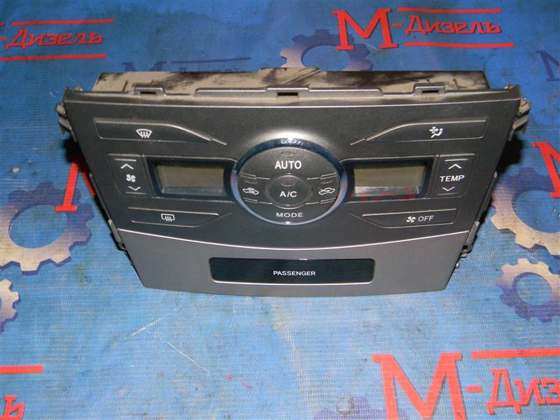 Блок управления климат-контролем Toyota Corolla Axio NZE141 1NZ-FE 2009