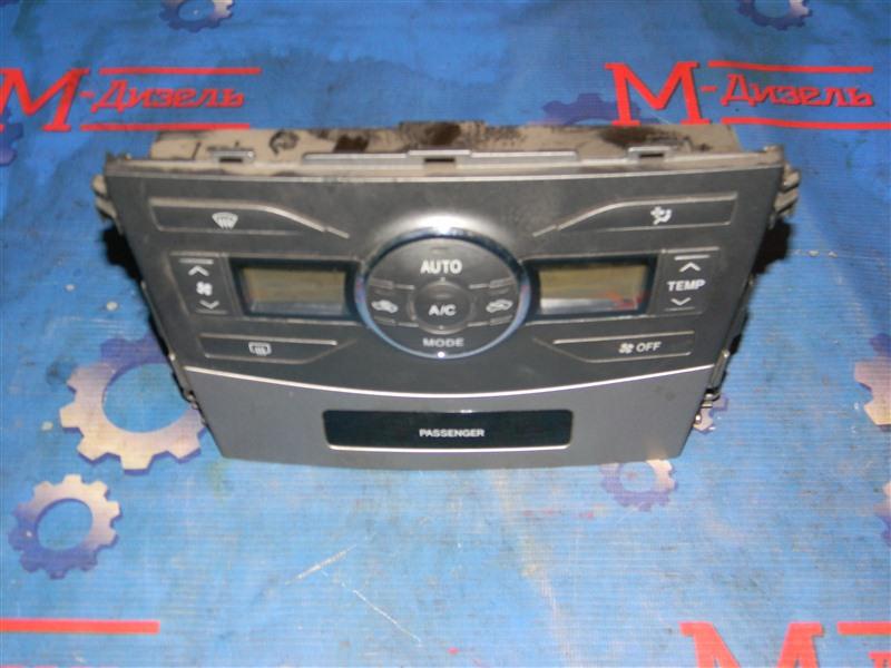 Блок управления климат-контролем Toyota Corolla Fielder NZE141 1NZ-FE 2009