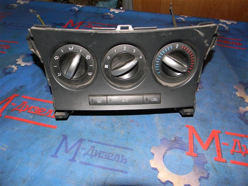 Блок управления климат-контролем Mazda Mazda 3 BL5 Z6 2009