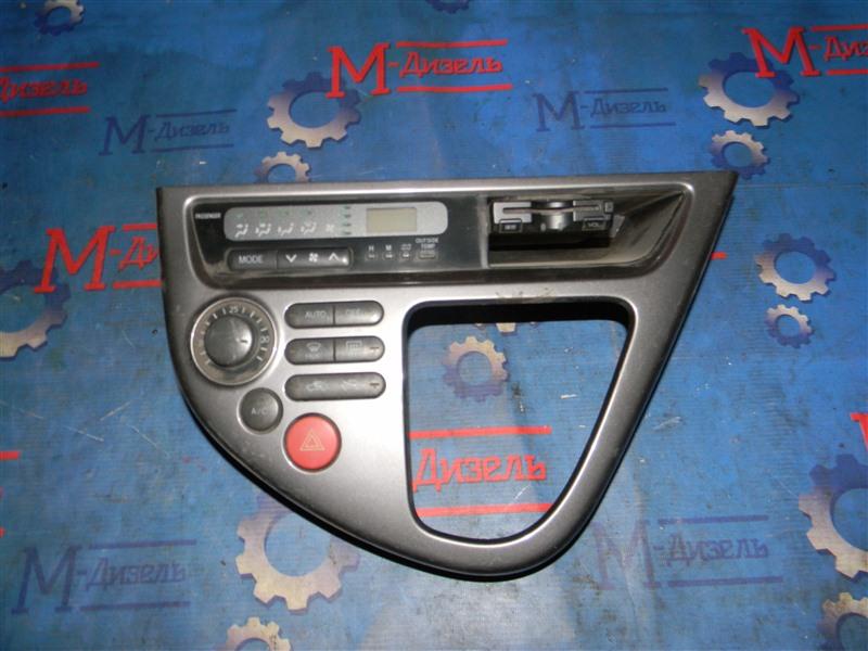 Блок управления климат-контролем Toyota Wish ZNE14 1ZZ-FE 2004