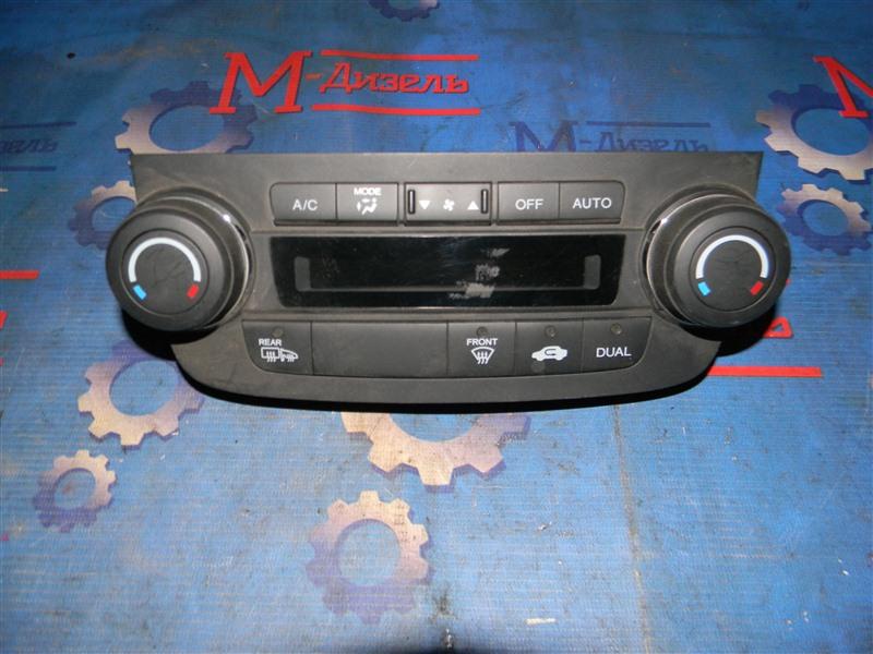 Блок управления климат-контролем Honda Cr-V RE4 K24A 2008