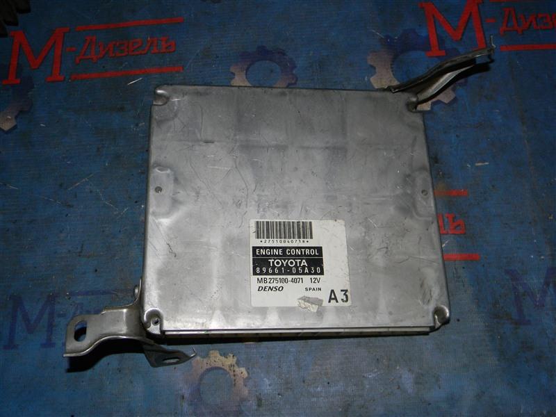 Блок управления двс Toyota Avensis AZT251 2AZ-FSE 2006