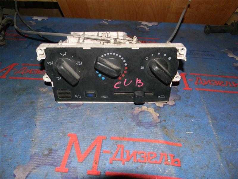 Блок управления климат-контролем Nissan Cube AZ10 CGA3 1998