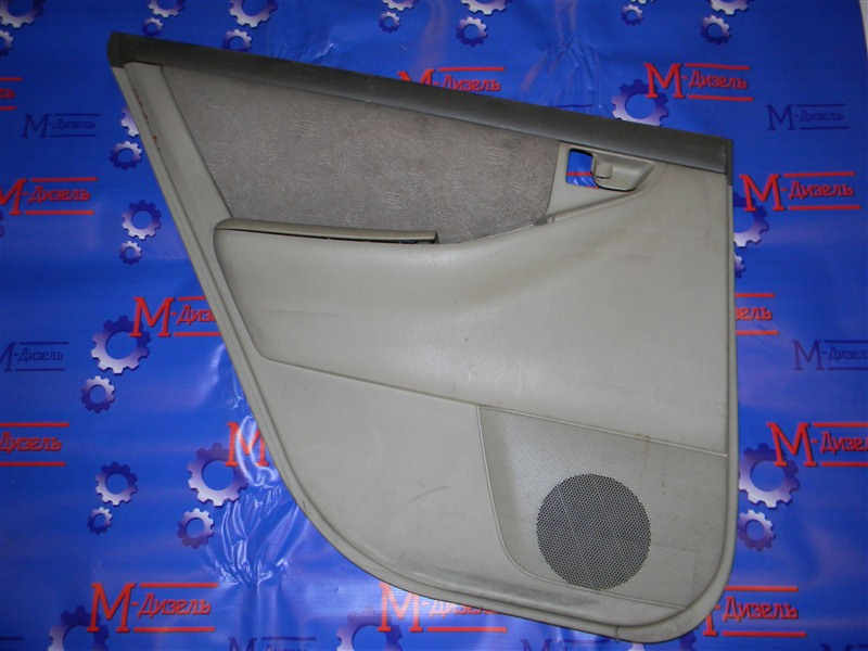 Обшивка двери Toyota Corolla NZE121 1NZ-FE 2001 задняя левая