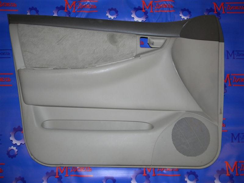 Обшивка двери Toyota Corolla NZE121 1NZ-FE 2000 передняя левая