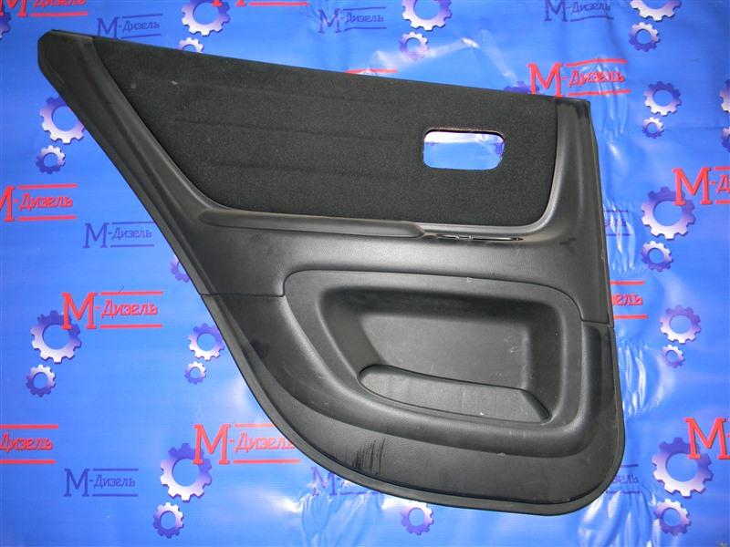 Обшивка двери Toyota Altezza SXE10 3S-GE 2001 задняя левая