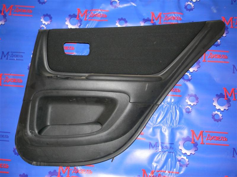Обшивка двери Toyota Altezza SXE10 3S-GE 2001 задняя правая