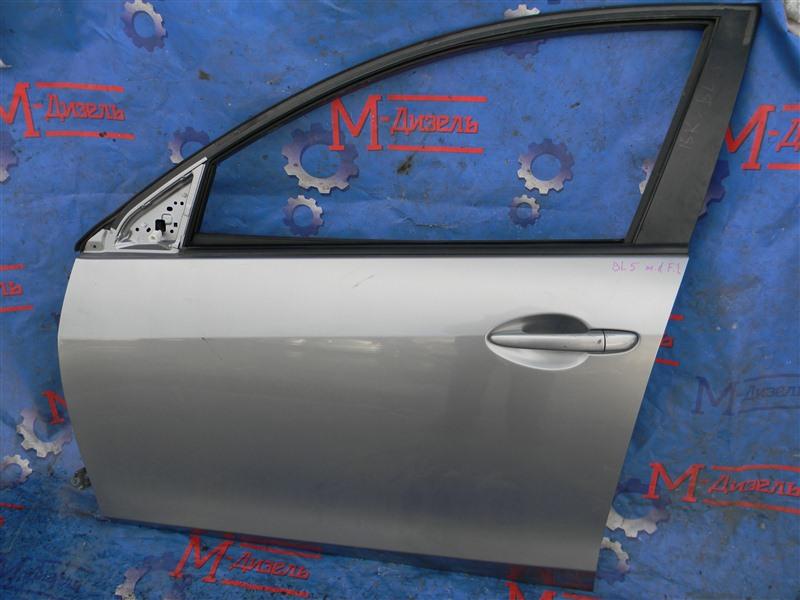 Дверь боковая Mazda Mazda 3 BL5FP Z6 2010 передняя левая