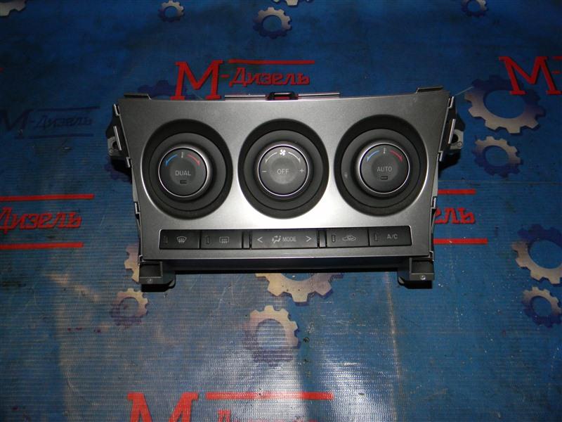 Блок управления климат-контролем Mazda Axela BL5FP ZY 2009