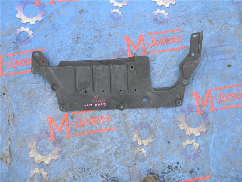 Защита двигателя Mitsubishi Lancer X CY4A 4B11 2007