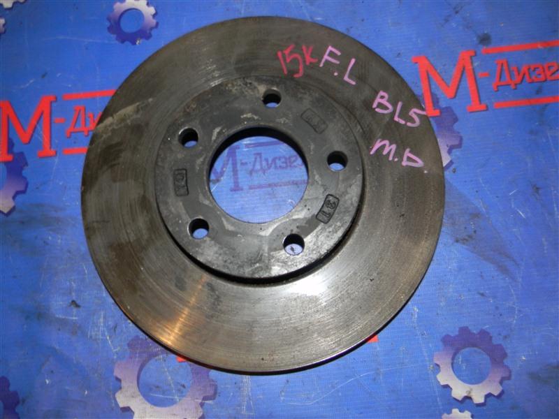 Диск тормозной Mazda Axela BL5FP ZY-VE 2009 передний левый