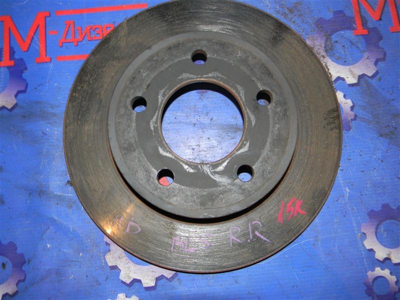 Диск тормозной Mazda Axela BL5FP ZY-VE 2009 задний правый