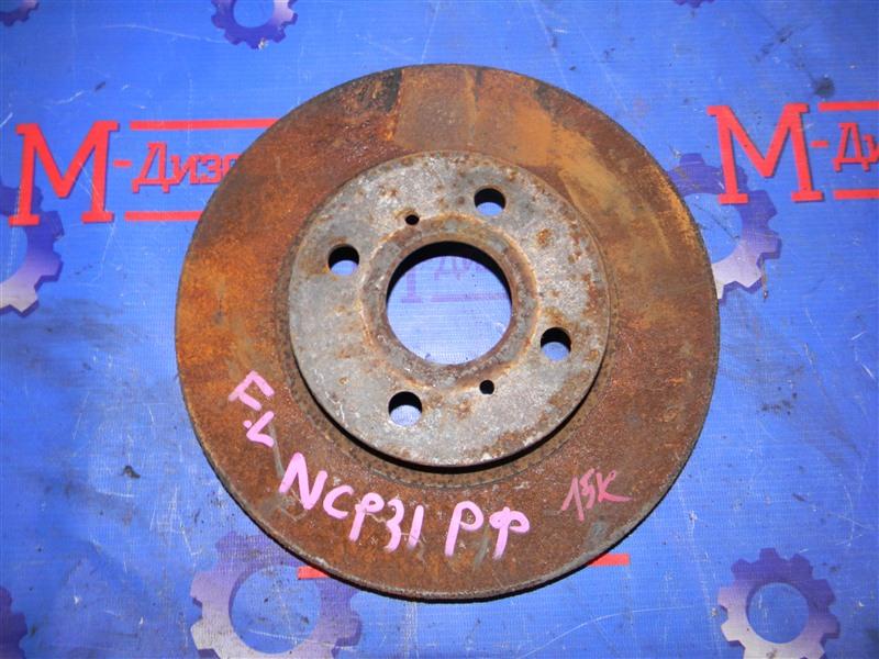 Диск тормозной Toyota Bb NCP31 1NZ-FE 2003 передний левый