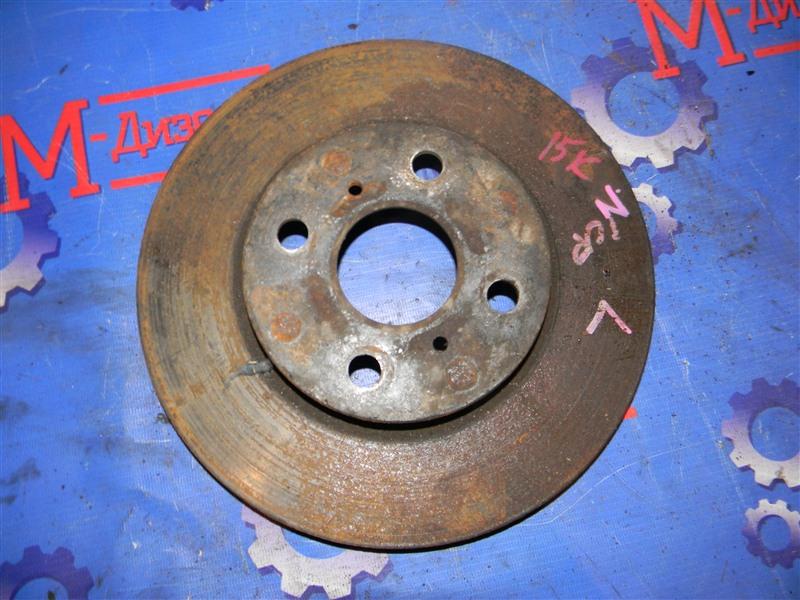 Диск тормозной Toyota Ist NCP60 2NZ-FE 2003 передний правый