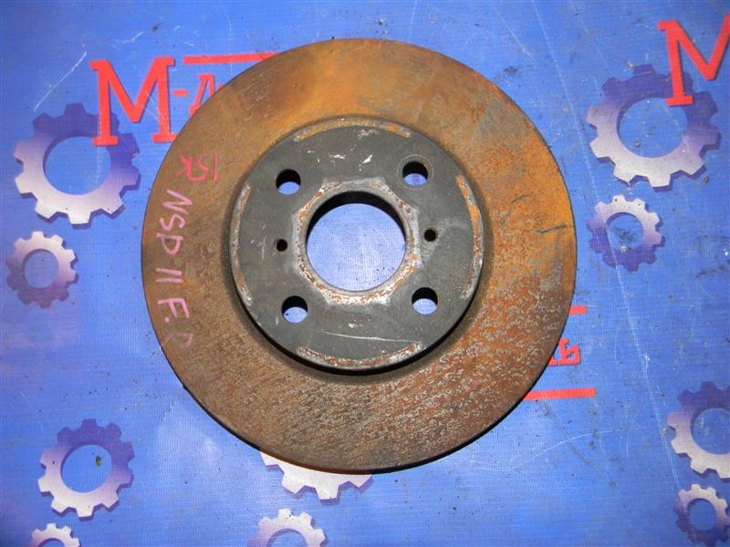 Диск тормозной Toyota Platz NCP12 1NZ-FE 2003 передний правый