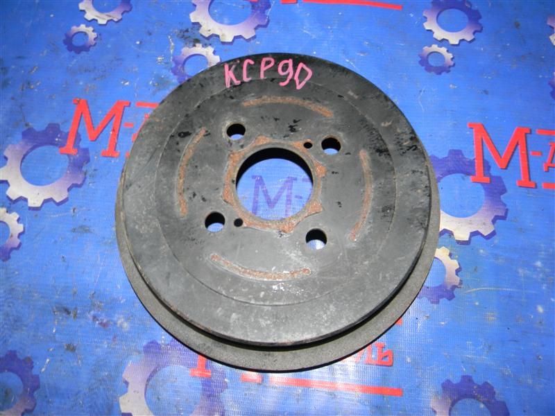 Барабан тормозной Toyota Vitz KSP90 1KR-FE 2009 задний правый
