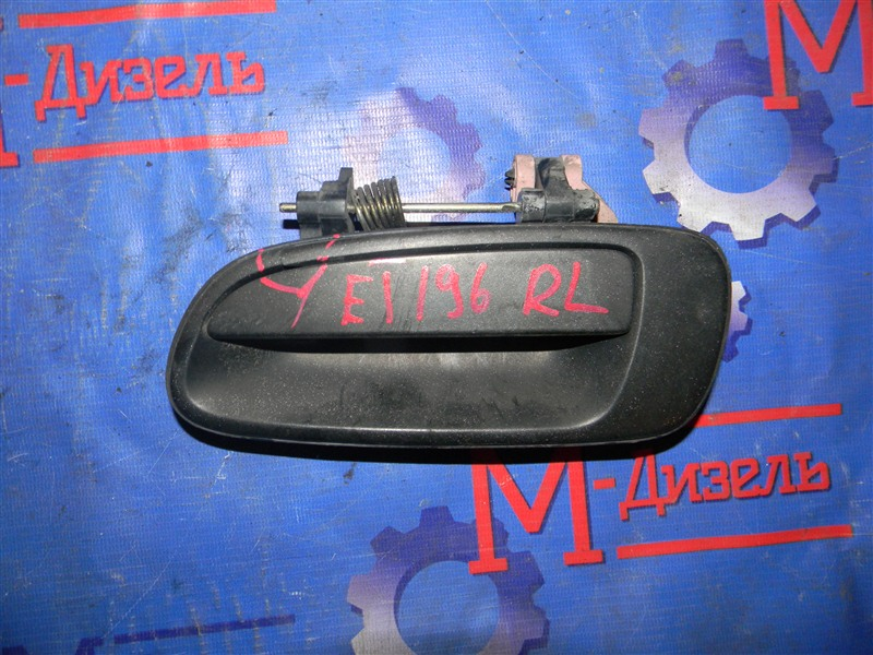 Ручка двери внутренняя Toyota Caldina CT196 2C 1995 задняя левая