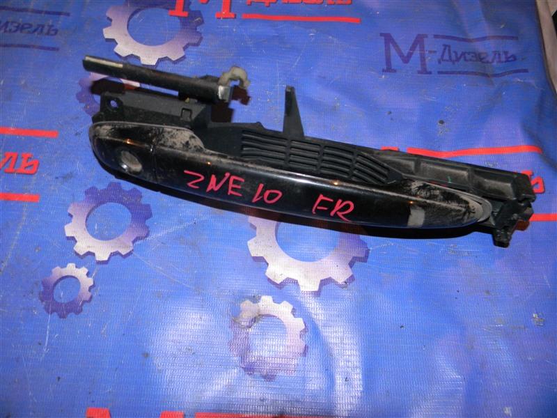 Ручка двери внешняя Toyota Wish ZNE10G 1ZZ-FE 2006 передняя правая