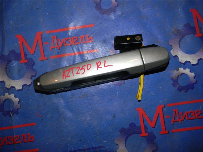 Ручка двери внешняя Toyota Avensis AZT250 1AZ-FSE 2008 задняя левая