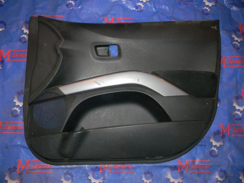 Обшивка двери Mitsubishi Outlander Xl CW5W 6B31 2008 задняя правая