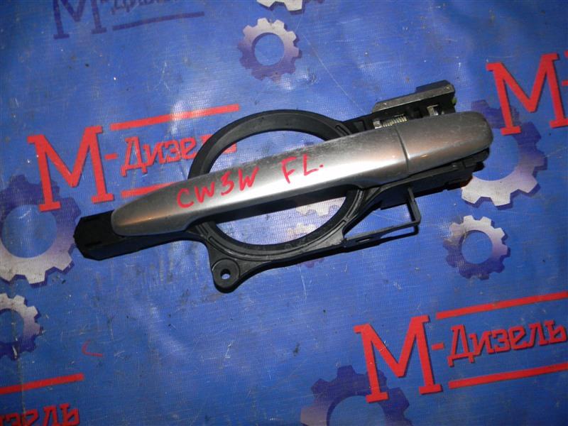 Ручка двери внешняя Mitsubishi Outlander Xl CW5W 6B31 2008 передняя левая
