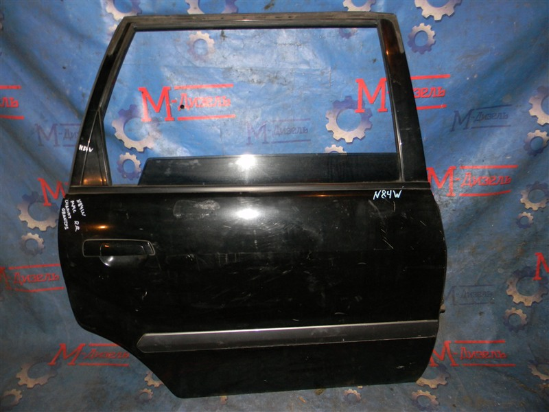 Дверь боковая Mitsubishi Chariot Grandis N84W 1999 задняя правая