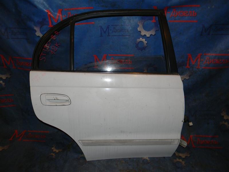 Дверь боковая Toyota Corona ST190 4S-FE 1992 задняя правая