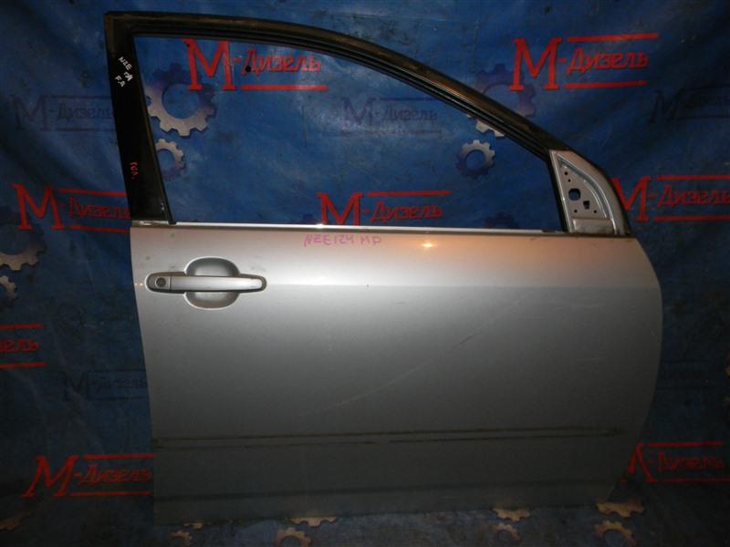 Дверь боковая Toyota Corolla Corolla /fielder NZE124 1NZ-FE 2003 передняя правая