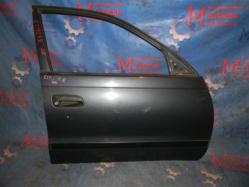 Дверь боковая Toyota Caldina ET196 5E-FE 1995 передняя правая