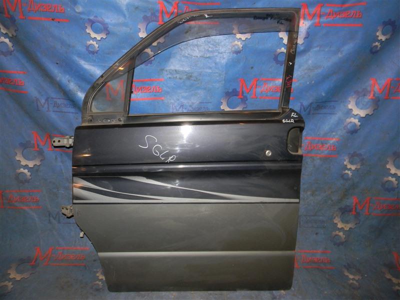 Дверь боковая Mazda Bongo Friendee SGLR WL передняя левая