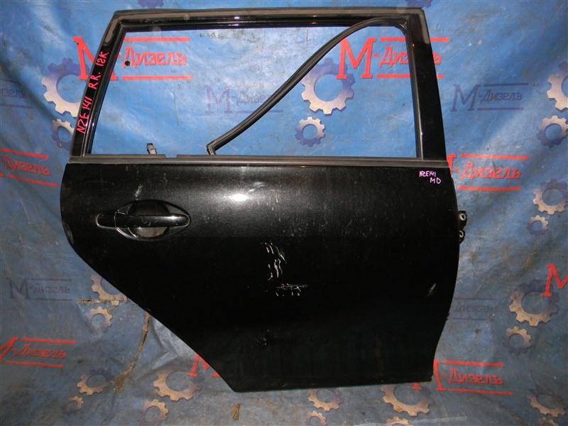 Дверь боковая Toyota Corolla Fielder NZE141 1NZ-FE 2008 задняя правая