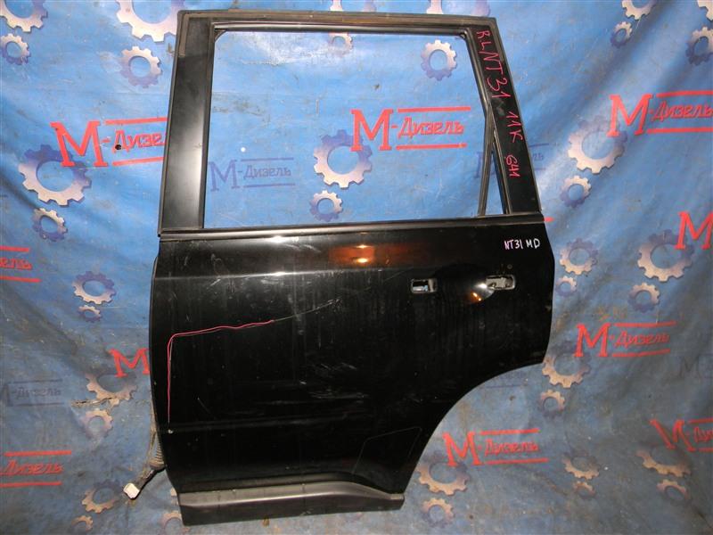 Дверь боковая Nissan X-Trail NT31 MR20-DE 2008 задняя левая