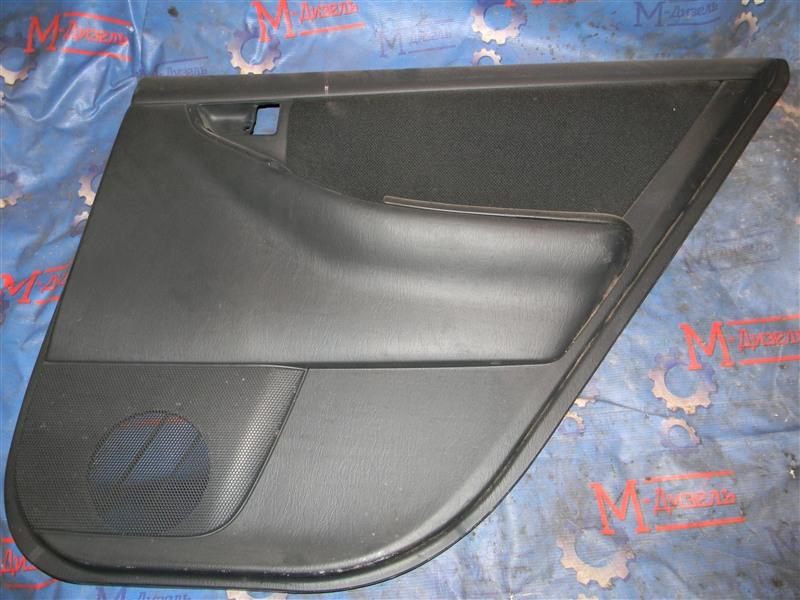 Обшивка двери Toyota Corolla Fielder NZE121 1NZ-FE 2006 задняя правая