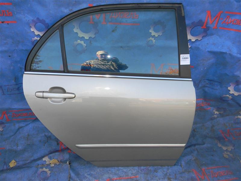 Дверь боковая Toyota Corolla NZE121 1NZ-FE 2001 задняя правая