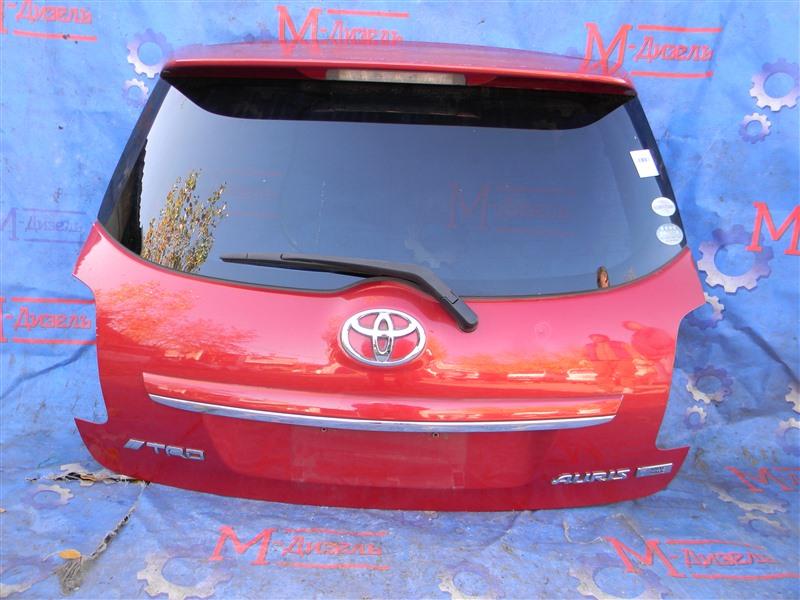 Дверь 5я Toyota Auris ZRE152 2ZR-FAE 2010