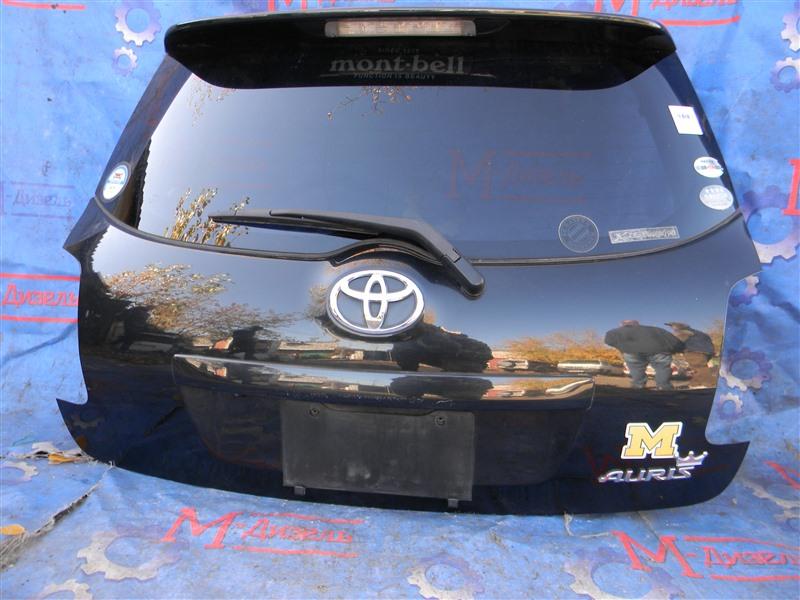 Дверь 5я Toyota Auris NZE151 1NZ-FE 2008