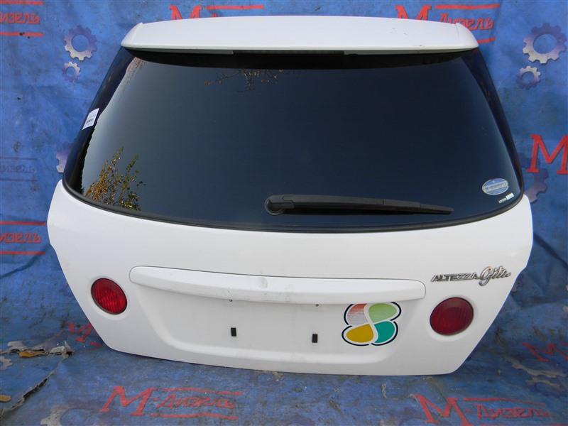 Дверь 5я Toyota Altezza Gita JCE10 2JZ-GE 2004