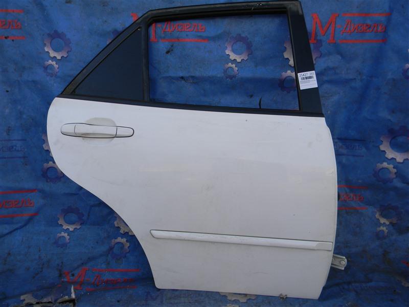Дверь боковая Toyota Altezza Gita JCE10 2JZ-GE 2004 задняя правая