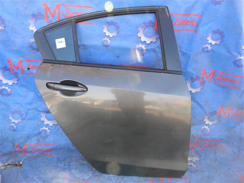 Дверь боковая Mazda Mazda 3 BL5FP Z6 2009 задняя правая