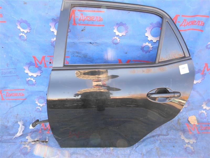 Дверь боковая Toyota Auris NZE151 1NZ-FE 2008 задняя левая