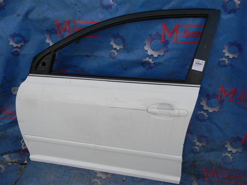 Дверь боковая Toyota Avensis AZT251 2AZ-FSE 2007 передняя левая